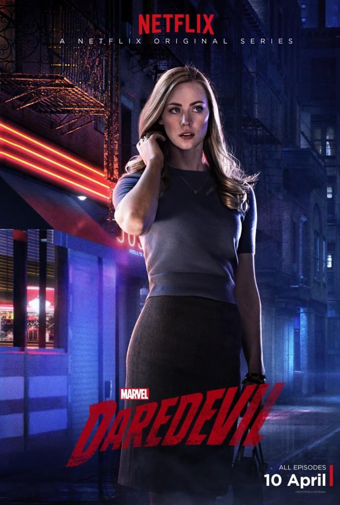 Daredevil Serie Poster Karen Page