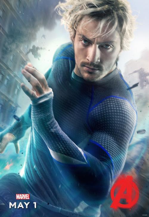 Avengers 2 Charakterposter Quicksilver