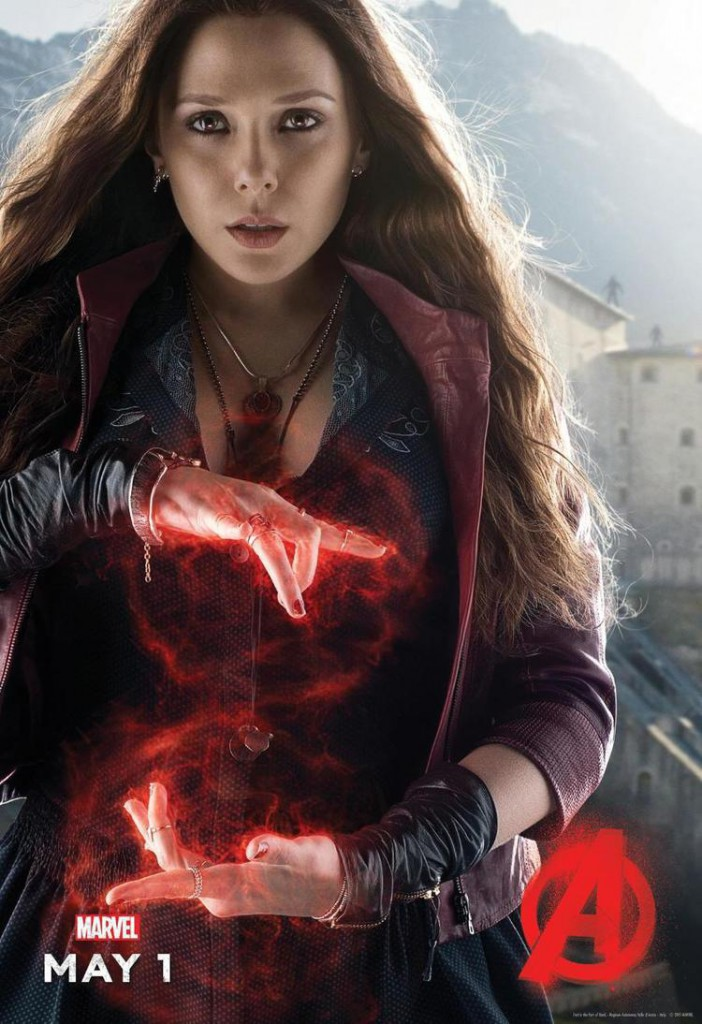Avengers 2 Charakterposter Scarlet Witch