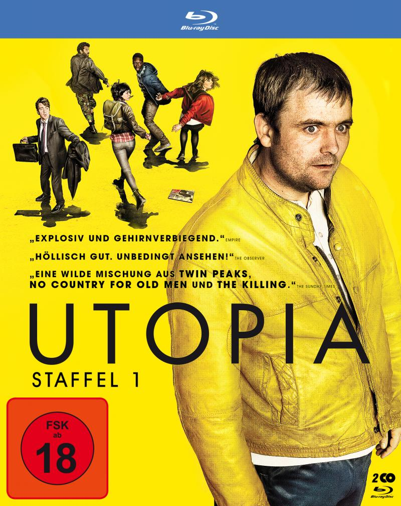 Utopia Staffel 1 BluRay Cover