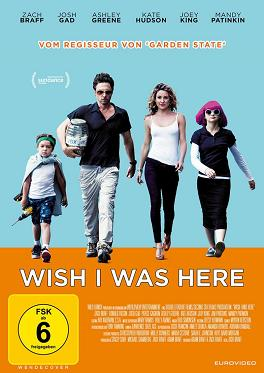 Wish I Was Here (2014) DVD-Cover