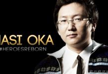 Masi Oka Heroes Reborn