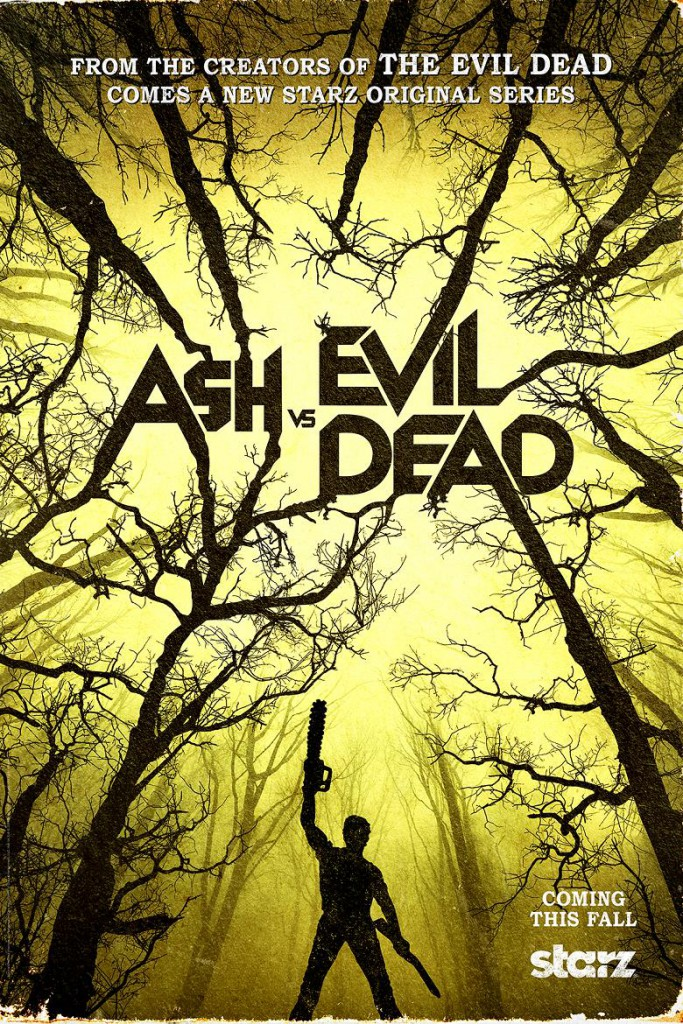 Asv vs Evil Dead Teaser Poster