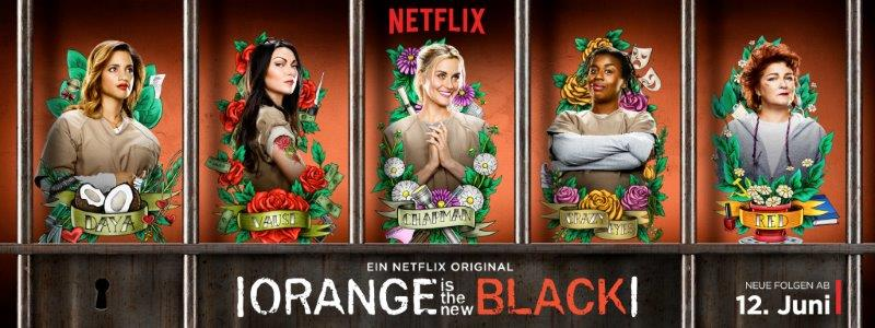 Orange is the New Black Staffel 3 Poster deutsch