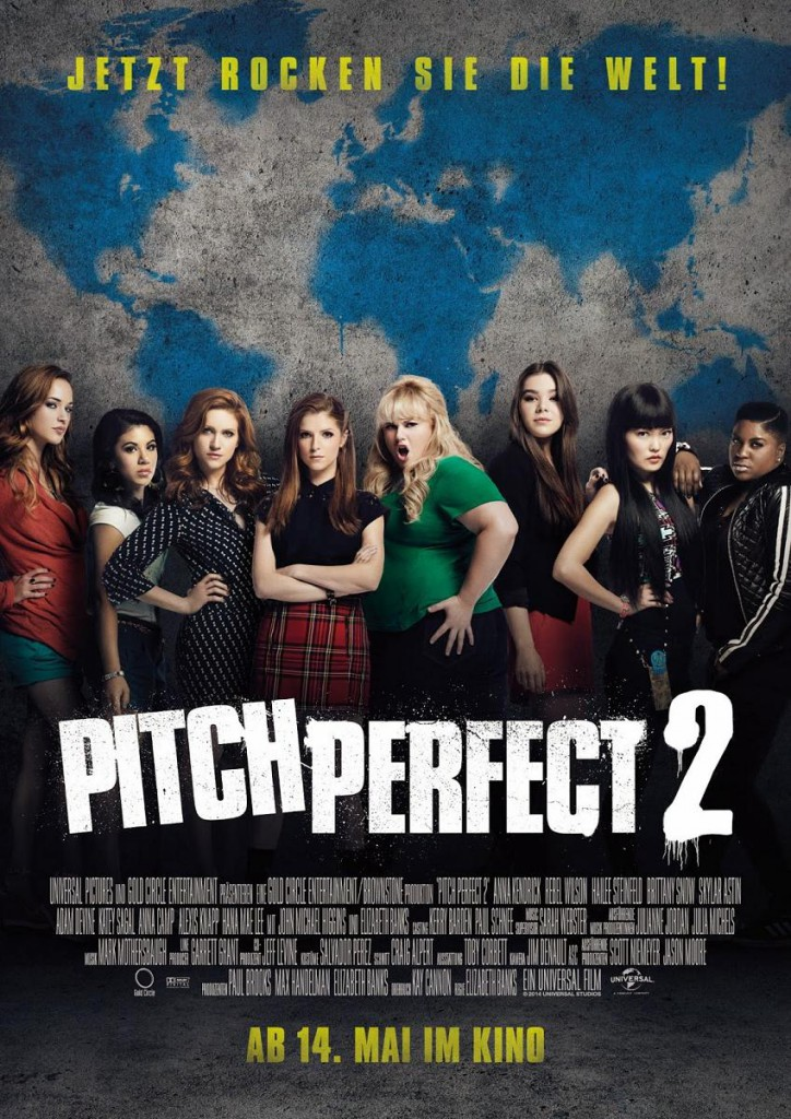 Pitch Perfect 2 Vorschau Poster