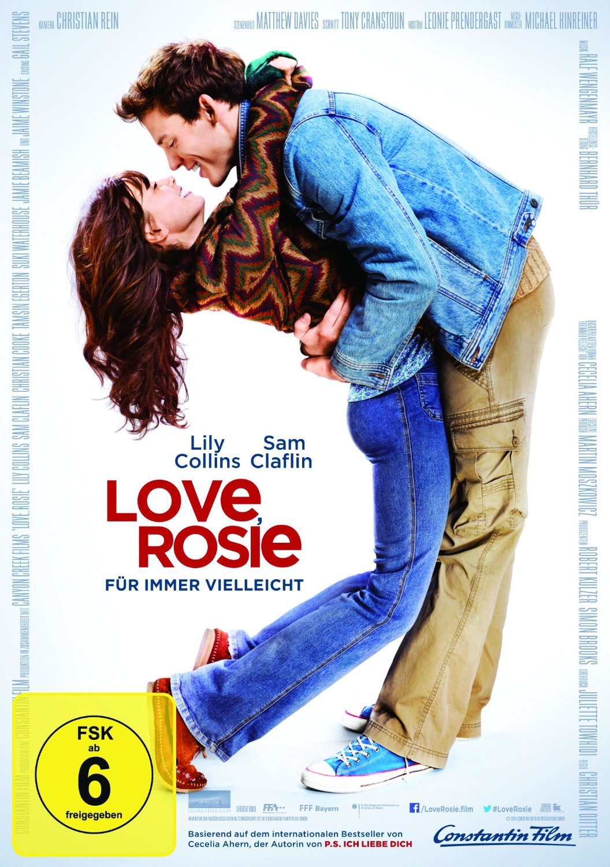 Love Rosie - Für immer vielleicht DVD-Cover