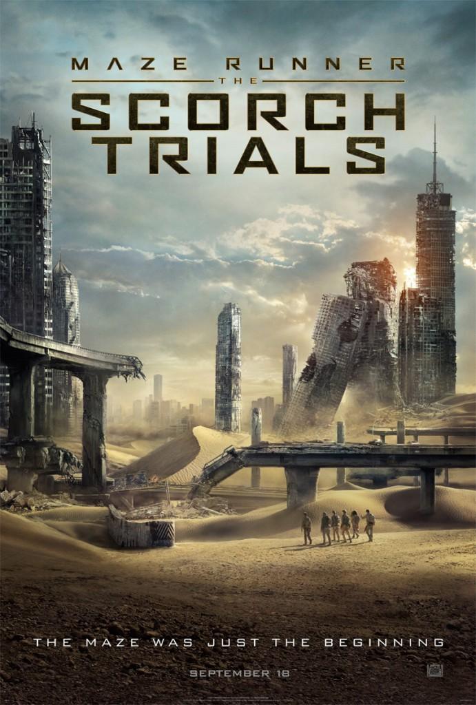 Maze Runner 2 Trailer & Poster