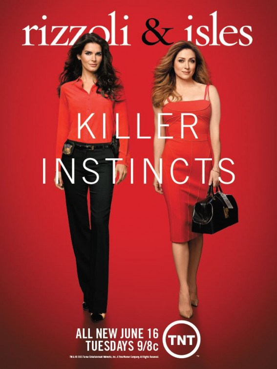 Rizzoli and Isles Staffel 6 Poster