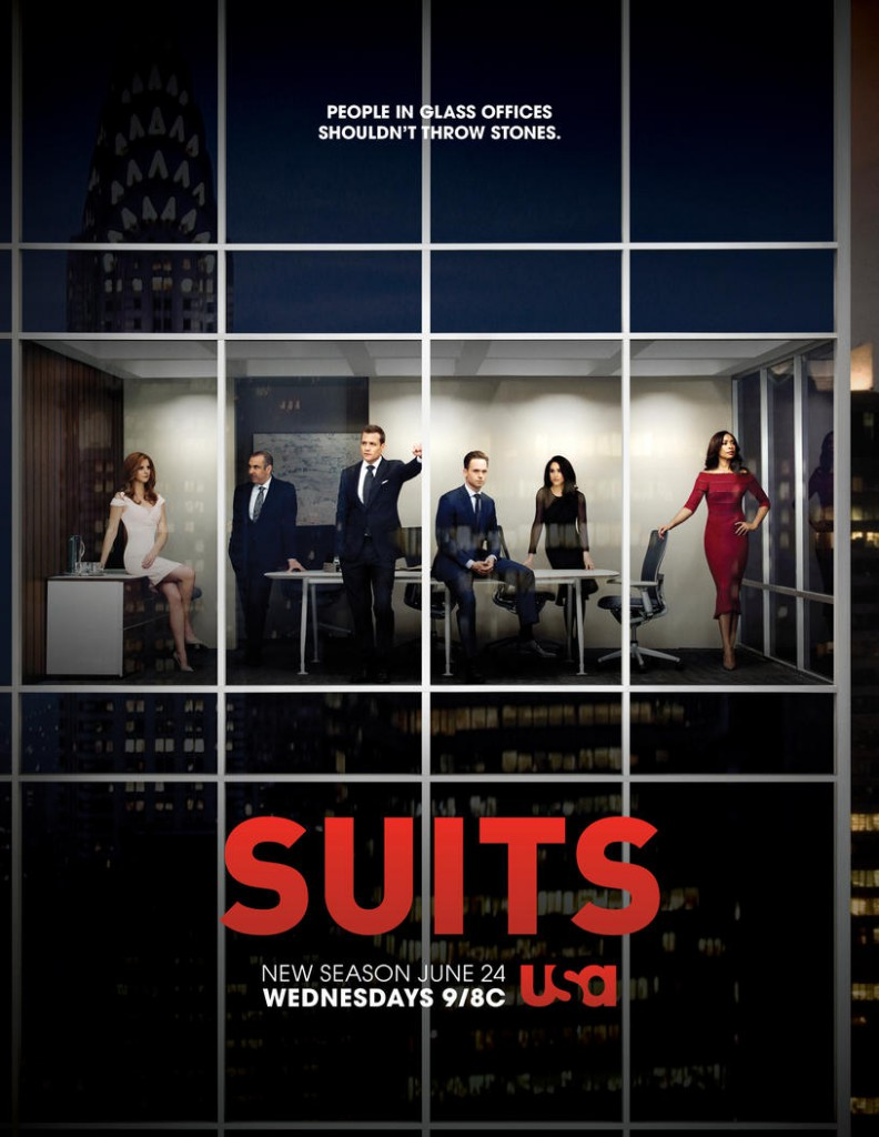 Suits Staffel 5 Poster 1