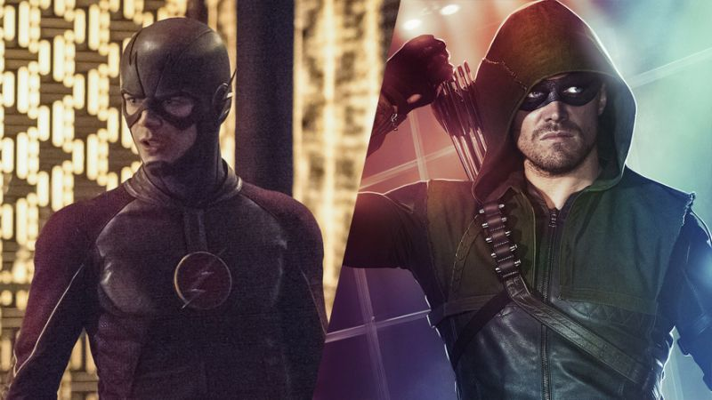 The Flash Staffel 2 Arrow Staffel 4