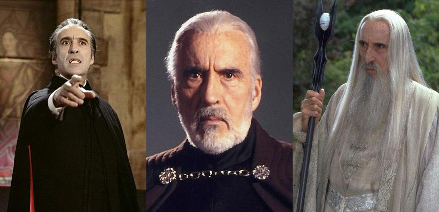 Christopher Lee tot