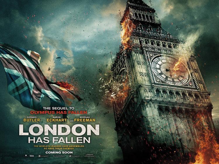 London Has Fallen Poster 3