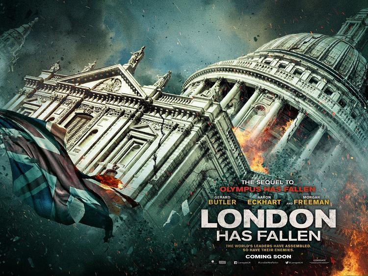 London Has Fallen Poster 2