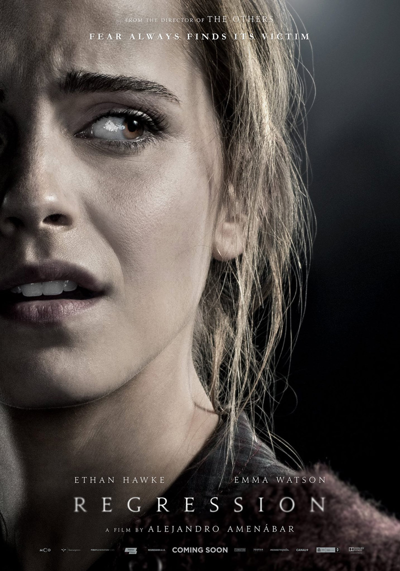 Regression Trailer Poster