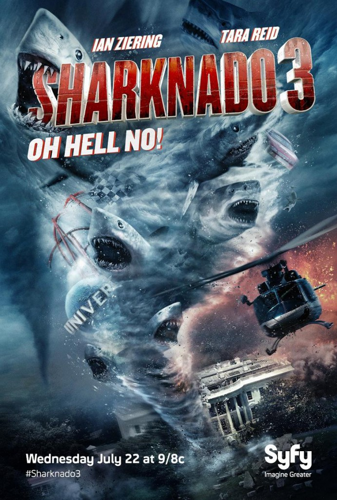 Sharknado 3 Trailer & Poster 1