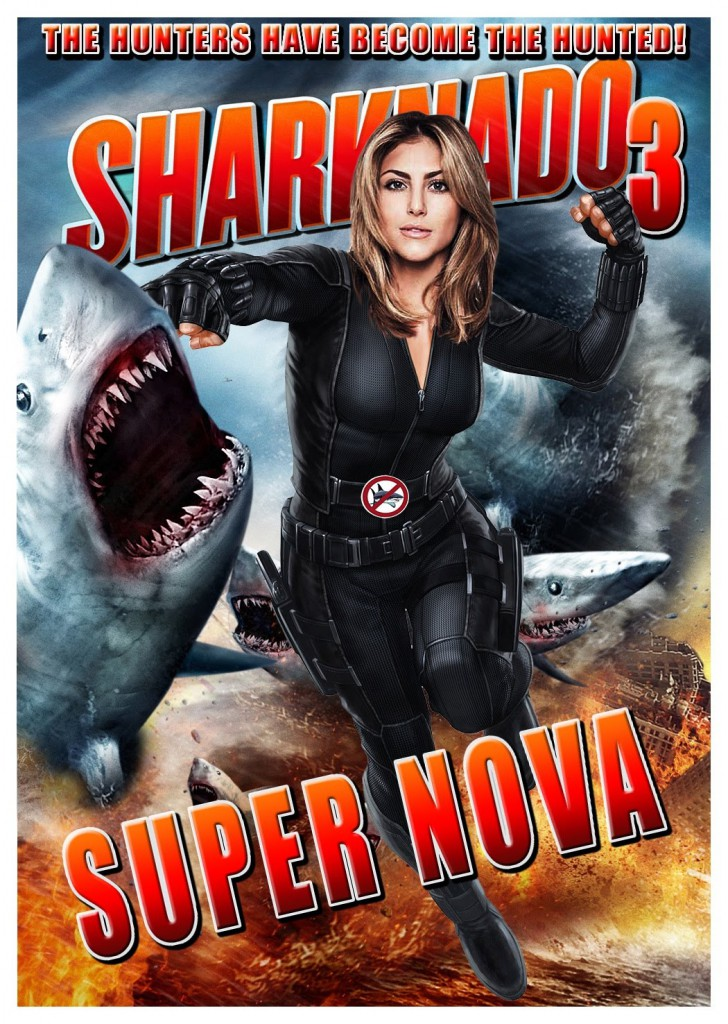 Sharknado 3 Trailer & Poster 2