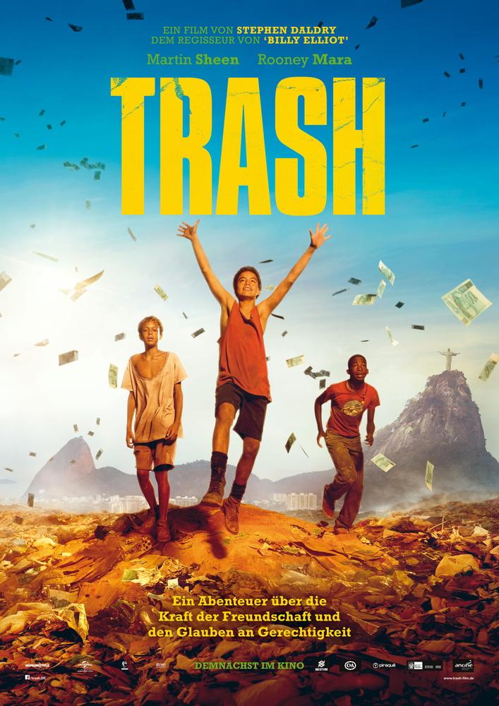 Trash Verlosung Plakat
