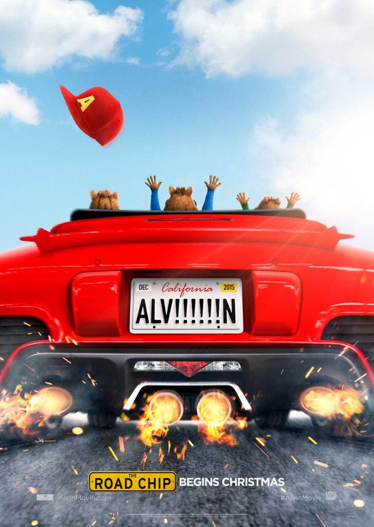 Alvin und die Chipmunks Road Chip Trailer & Poster