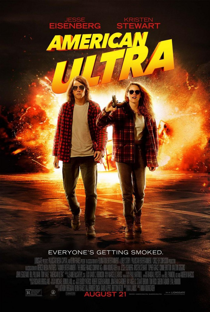 American Ultra Trailer 2 & Poster