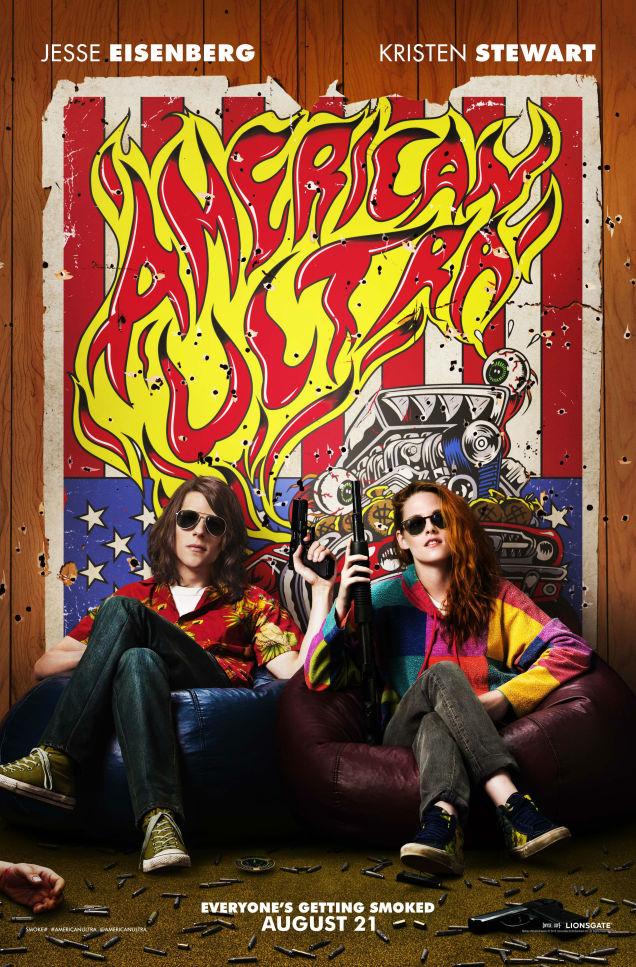 American Ultra Poster Comic Con