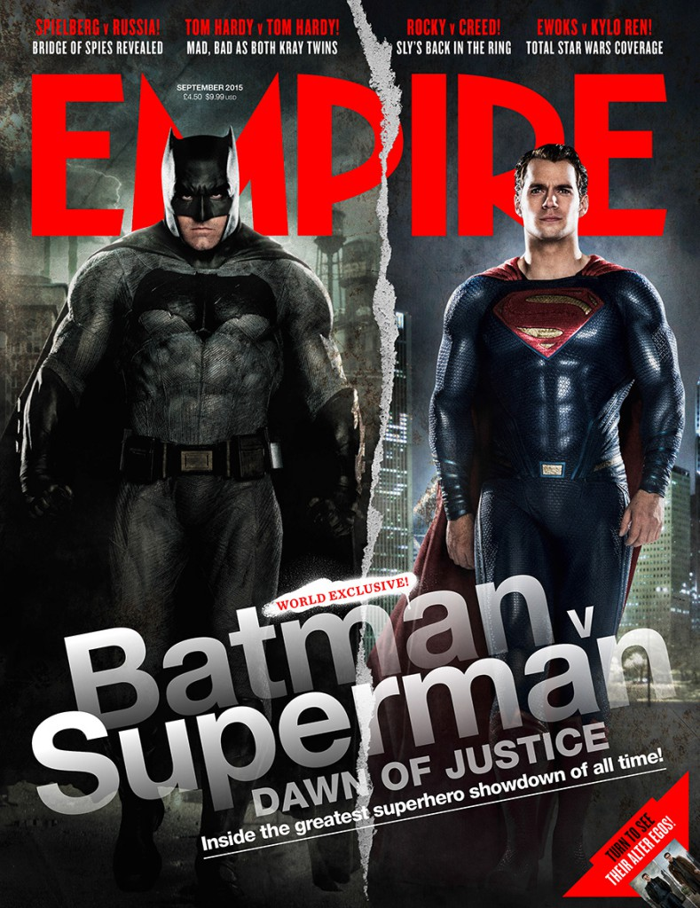 Batman v Superman Fotos Empire Cover