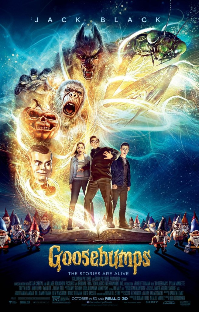 Gänsehaut Trailer & Poster