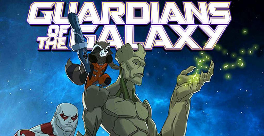 Guardians of the Galaxy Serie Promo