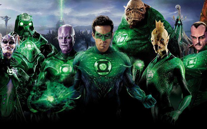 Green Lantern Reboot Green Lantern Corps
