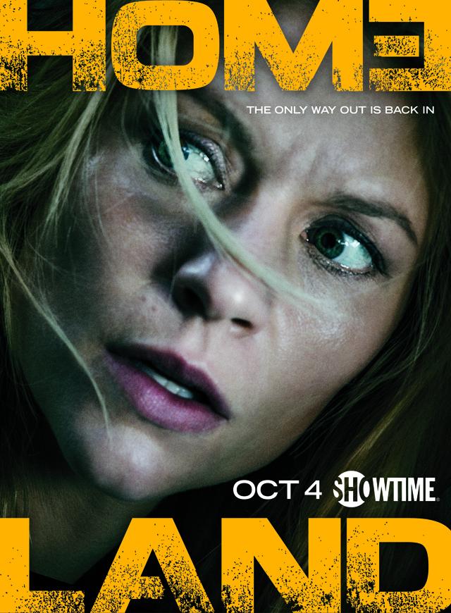 Homeland Staffel 5 Start Poster