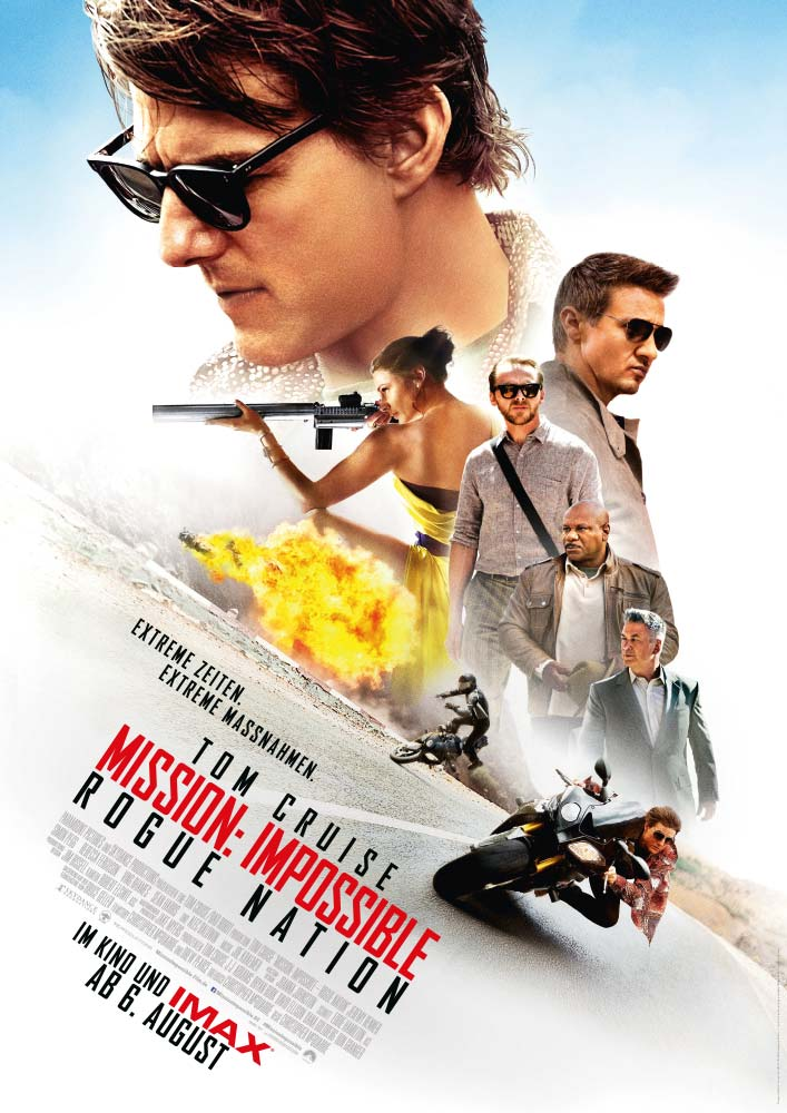 Mission Impossible Rogue Nation Gewinnspiel Plakat
