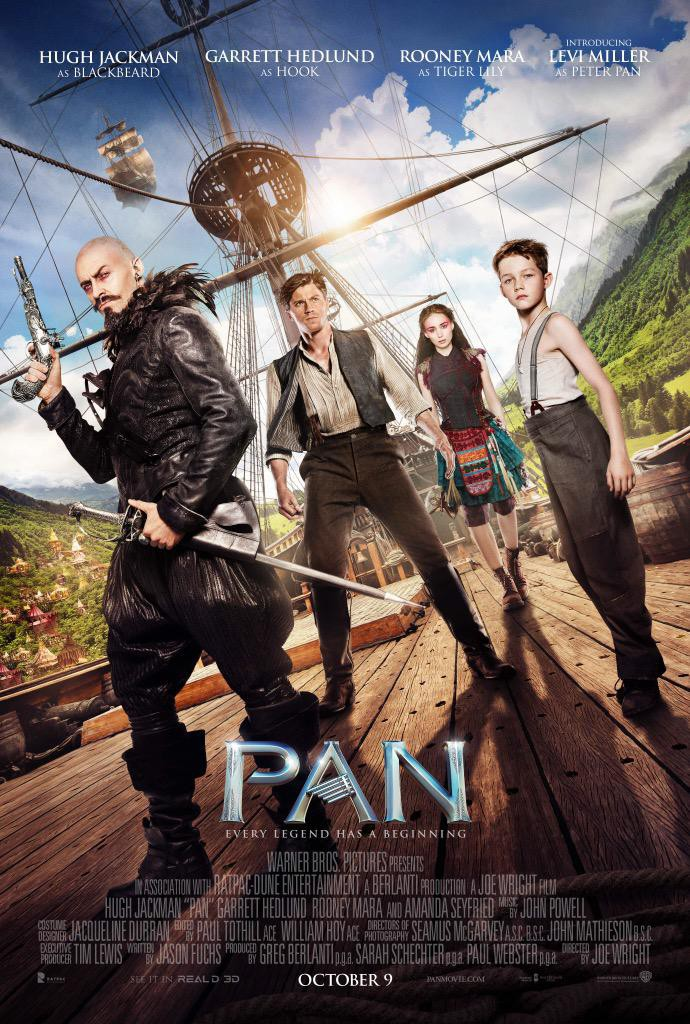 Pan Trailer & Poster