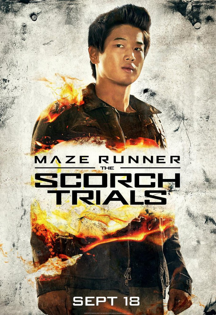 Maze Runner 2 Charakterposter 3