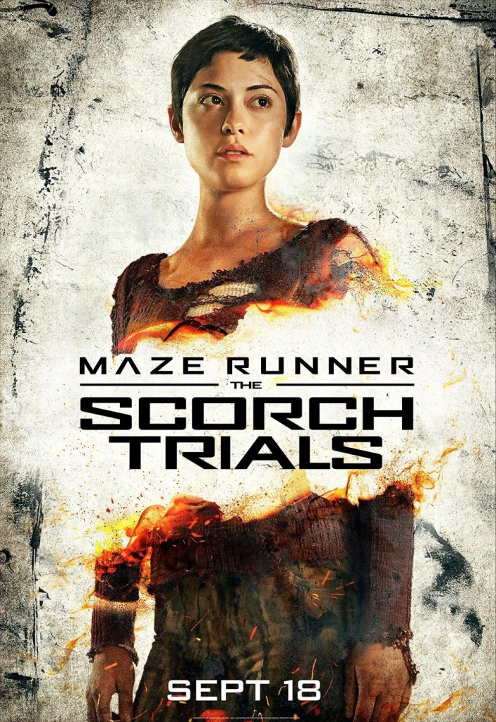 Maze Runner 2 Charakterposter 2