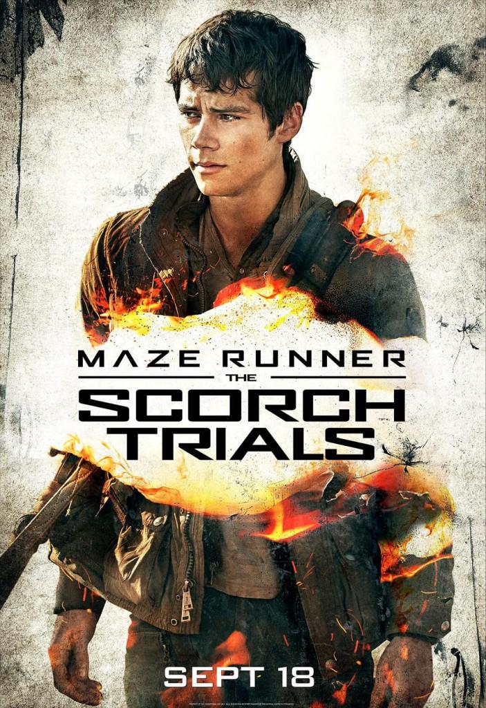 Maze Runner 2 Charakterposter