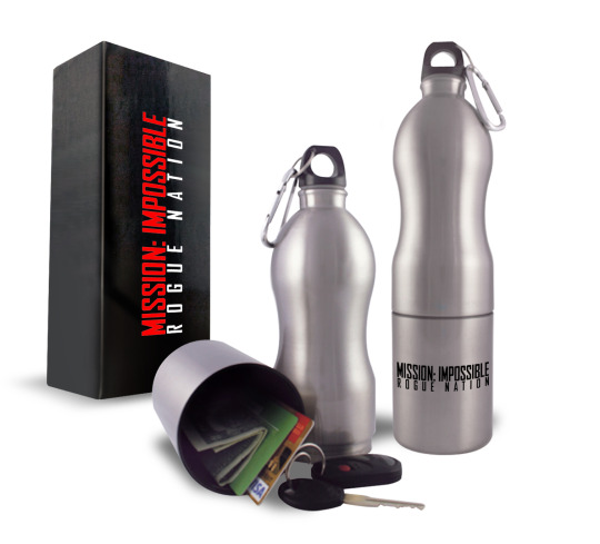 Mission Impossible Rogue Nation Gewinnspiel Flasche