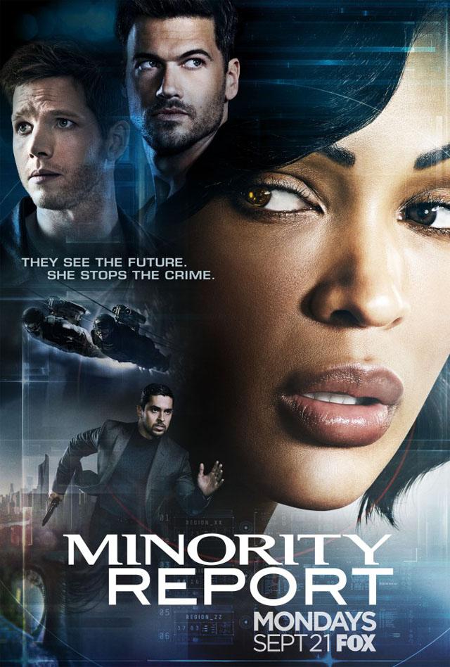 Minority Report Serie Poster 1