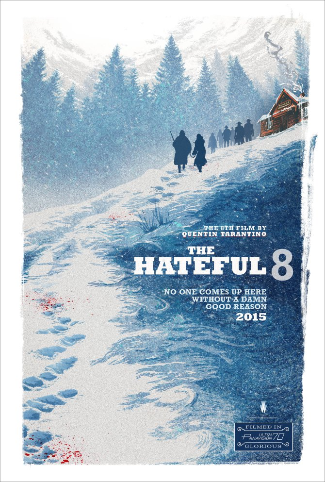 The Hateful Eight Plakat Comic Con 2015