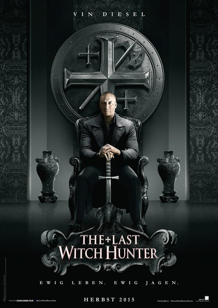 The Last Witch Hunter Trailer 2 Poster