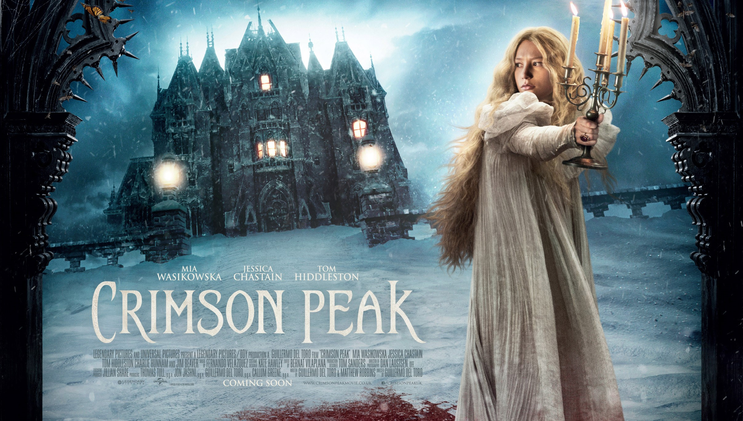 Crimson Peak (2015) Filmkritik Slider