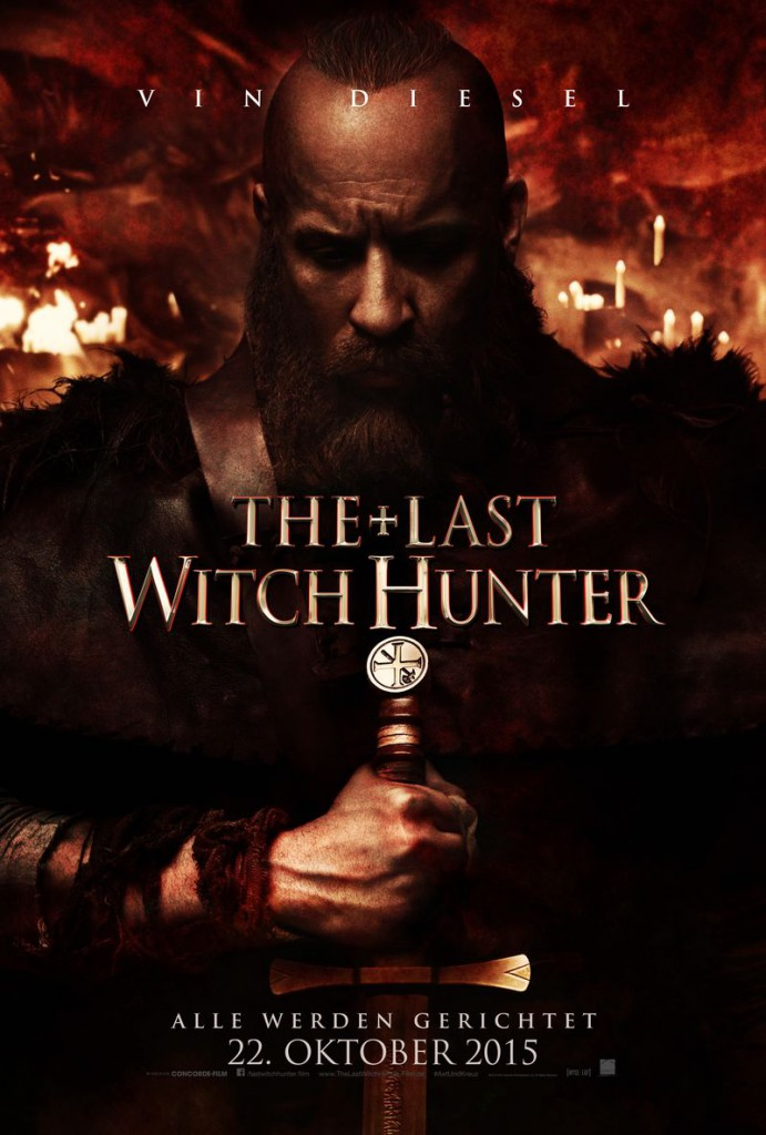 The Last Witch Hunter Trailer 2 Charakterposter 1
