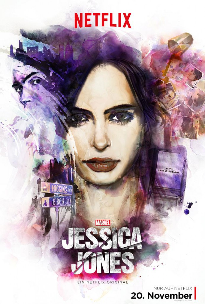 Jessica Jones Trailer & Poster