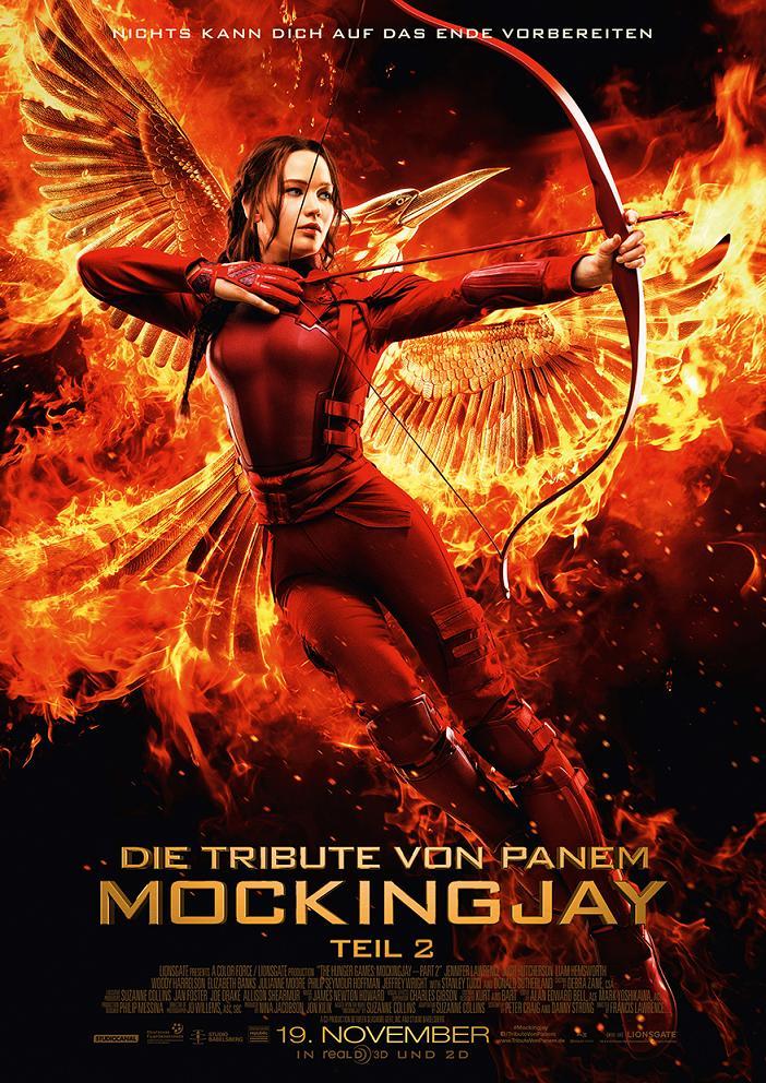 Mockingjay Teil 2 Trailer & Poster 1