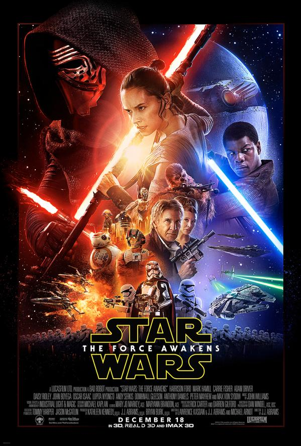 Star Wars Das Erwachen der Macht Poster 1