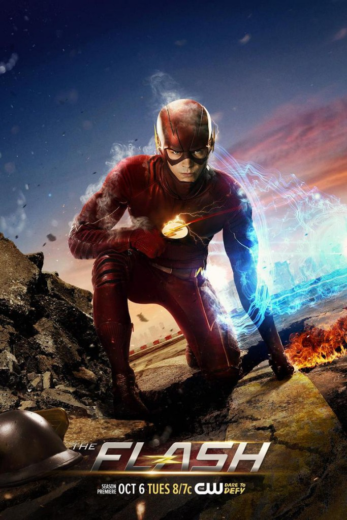 The Flash Staffel 2 Vorschau Plakat 3