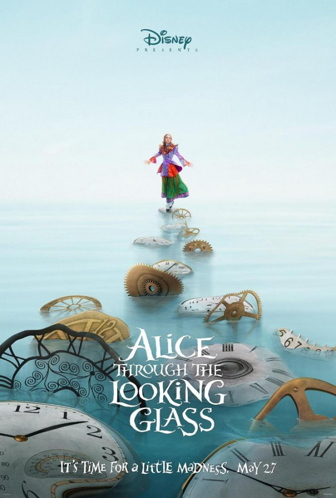 Alice Through the Looking Glass Teaser Poster 1