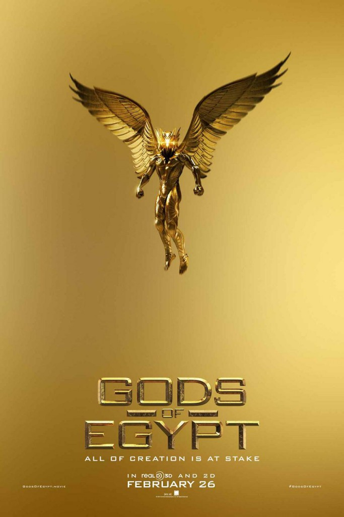 Gods of Egypt Trailer & Poster 7