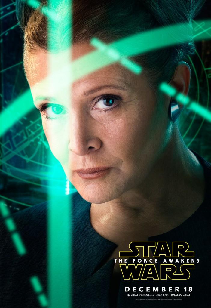Star Wars Episode VII Charakterposter 3