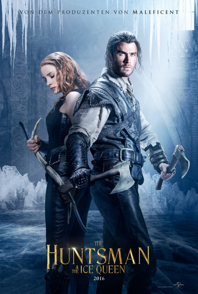 The Huntsman and The Ice Queen Trailer Poster 2