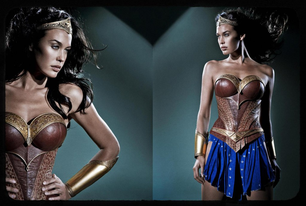 Wonder Woman Justice League Mortal Megan Gale