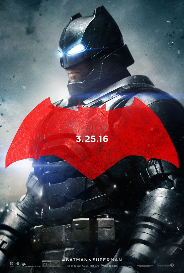 Batman v Superman Charakterposter Batman